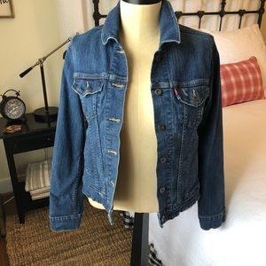 Ladies Levi's Denim Jean Jacket
